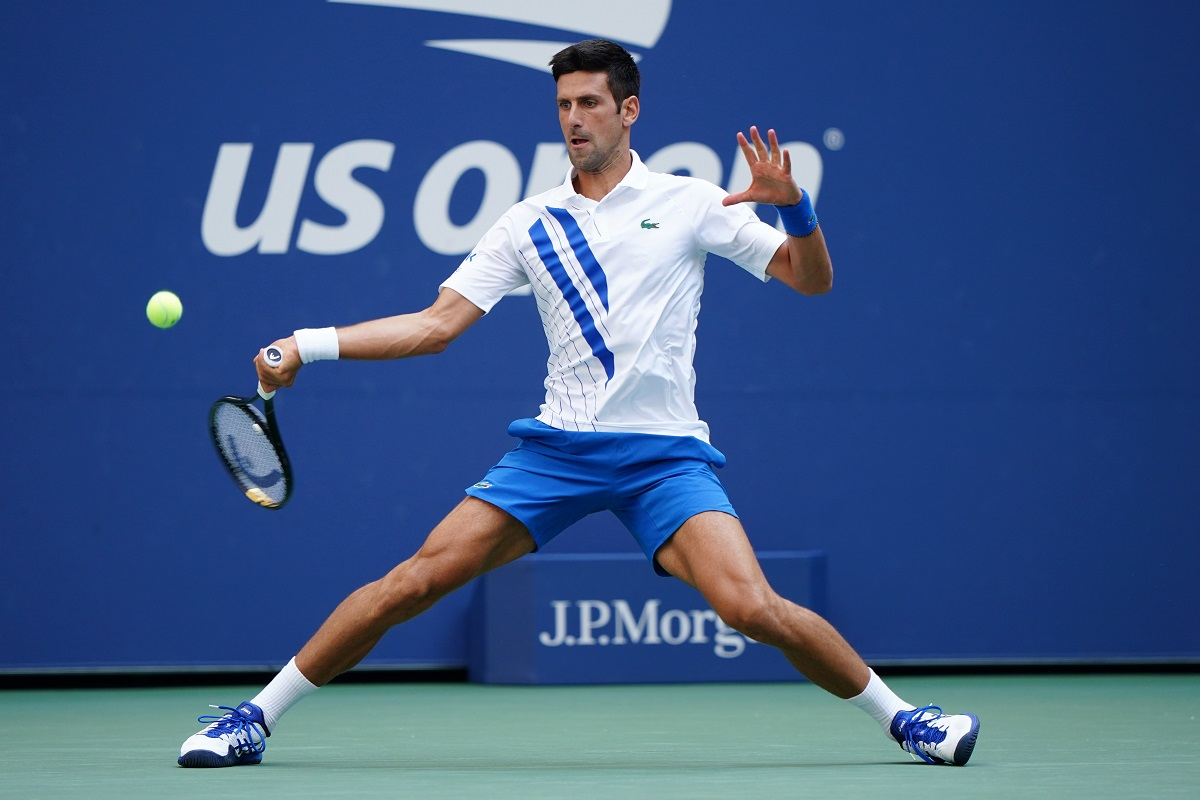 Novak Djokovic kicked off his campaign with a resounding 6-3, 6-2 win over Schwartzman, marking the 12th straight time that he has won his opening round-robin match at the end-of-year championships.