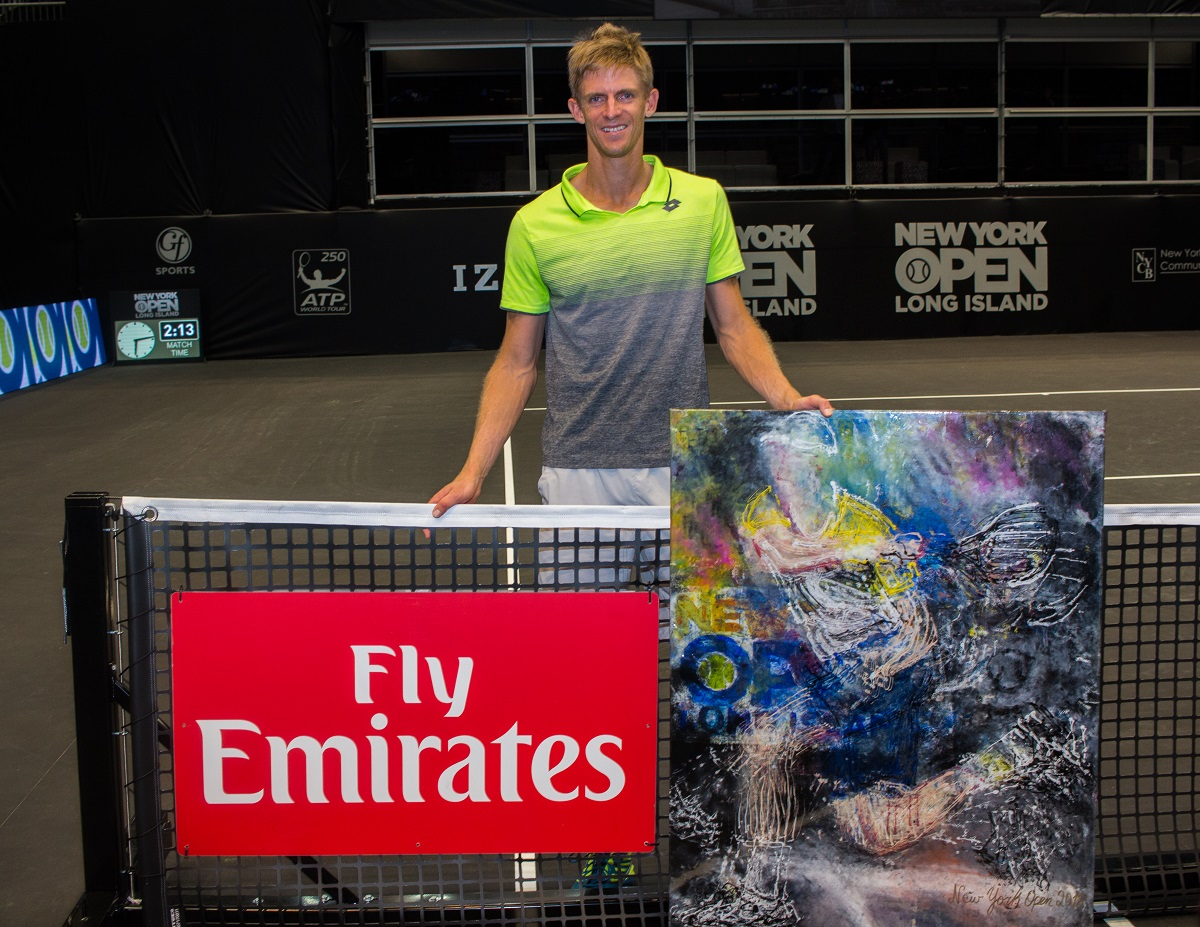 Kevin Anderson won the inaugural New York Open earlier this year, and will be back to defend his title at the 2019 New York Open.