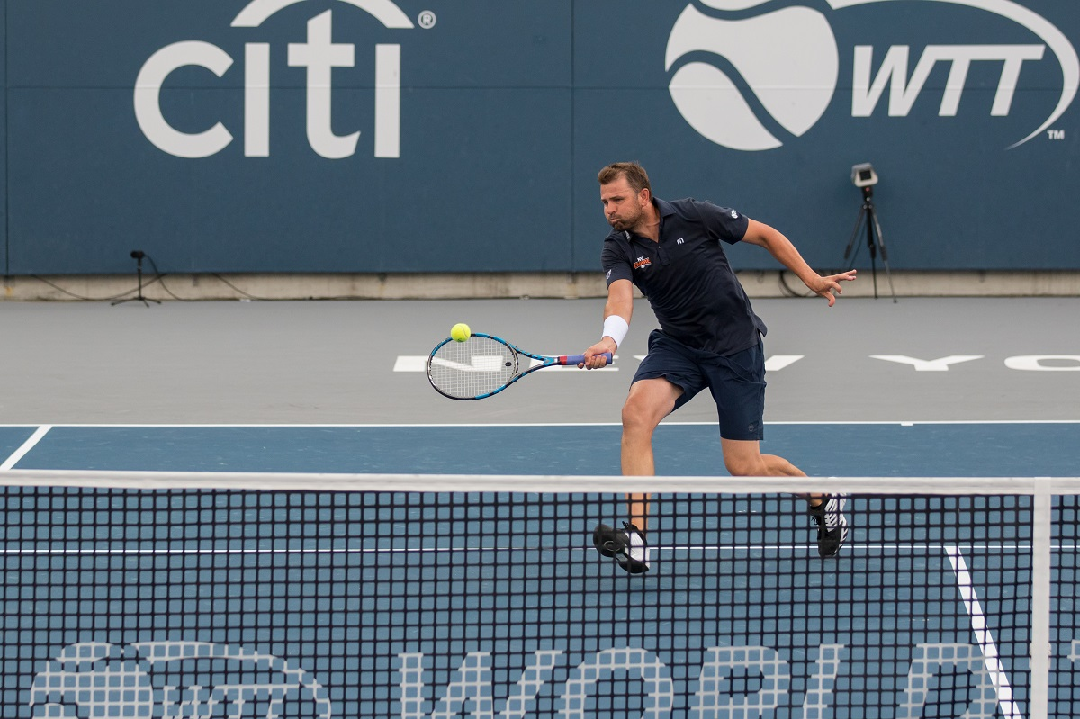 American Mardy Fish looks to bring his veteran presence back to the Empire in 2020.