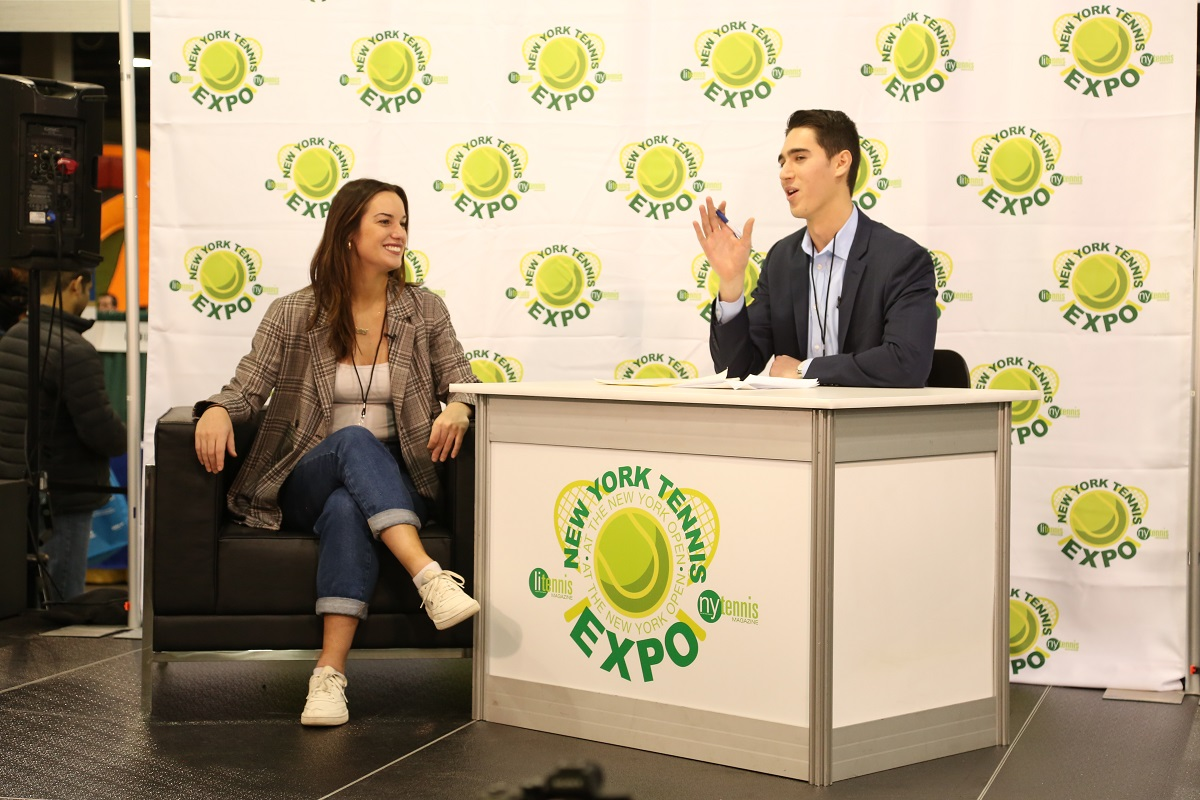 Brooklyn native Hannah Berner was a featured speaker at the 2020 New York Tennis Expo.
