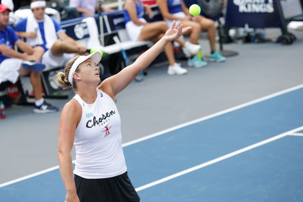 Coco Vandeweghe was traded midseason to the New York Empire, and helped lead the Empire to its first WTT title.