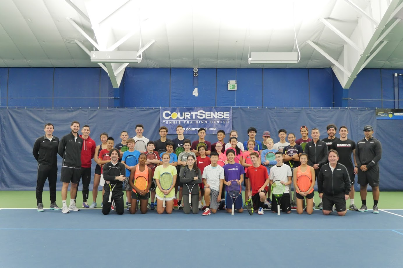 CourtSense Tennis Training Centers at Tenafly and Bogota Racquet Club