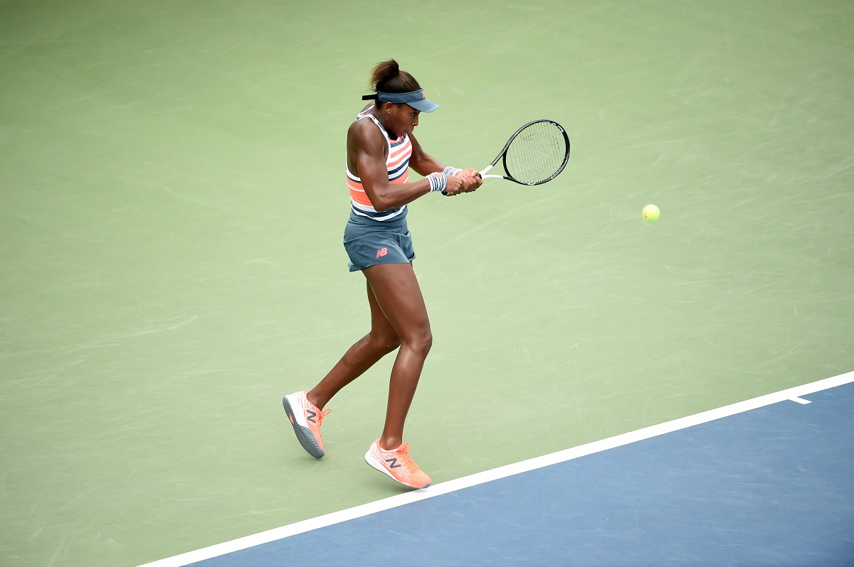 """American teenager Cori """"Coco"""" Gauff upset one of her idols and five-time champion Venus Williams in the opening round of the Wimbledon Championships on Monday, winning her first ever Grand Slam main draw match 6-4, 6-4."""
