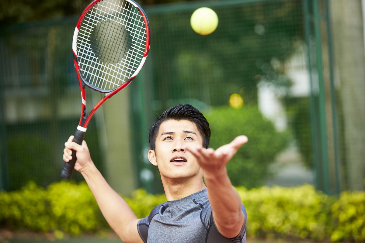 Did you know that many studies indicate that you can develop and improve tennis movements simply by thinking about them? It's called Visualization and it's powerful.