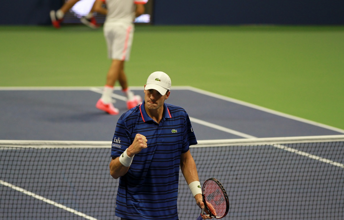 American John Isner reached the Wimbledon quarterfinals for the first time as he defeated 31st seed Greek Stefanos Tsitsipas 6-4, 7-6(8), 7-6(4) in a fourth round showdown at the All-England Club on Monday.
