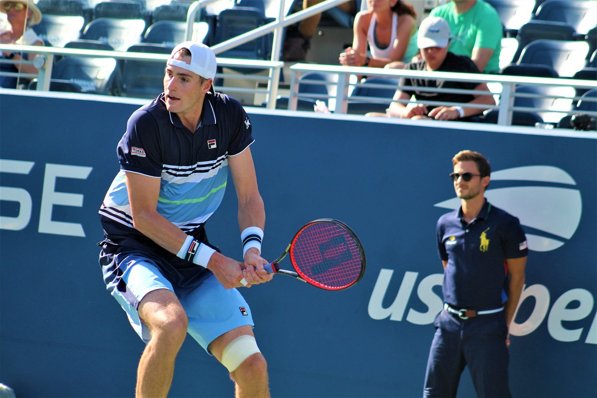 Top-ranked American John Isner returns to NYCB LIVE for a third consecutive year.