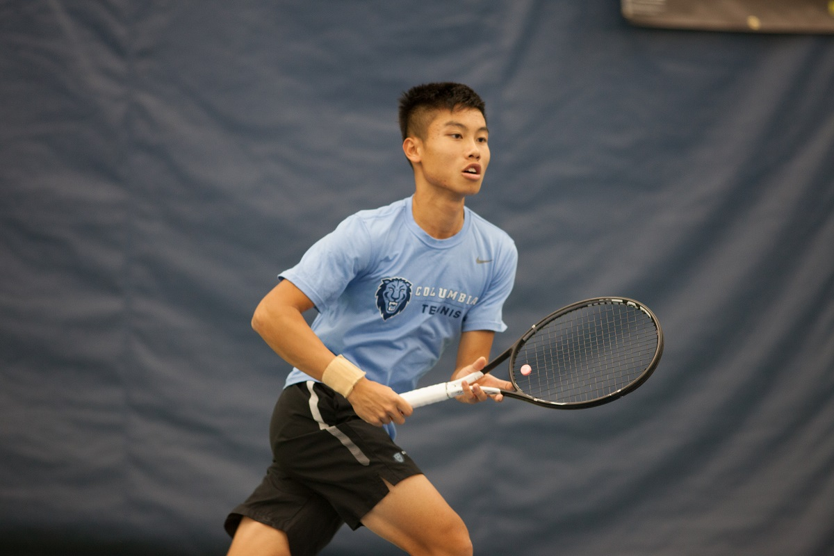 Columbia's Jack Lin competing in the New York Open Collegiate Invitational earlier this year.