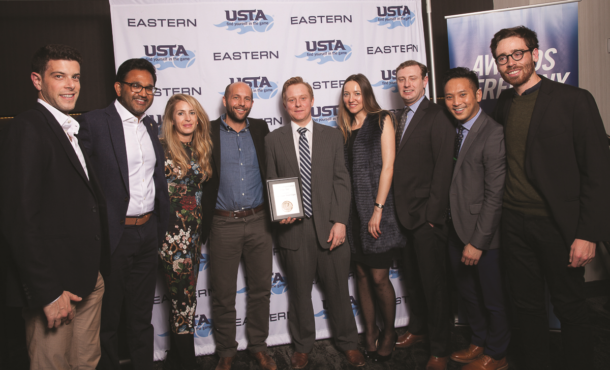 Kings County Tennis League were named the Eastern Member Organization of the Year at the USTA Eastern Conference earlier this year.