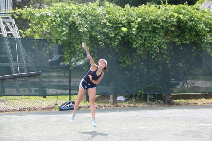 Catherina Krespi, who trains out of Roosevelt Island Racquet Club, was undefeated at third singles for Columbia Prep in her freshman season