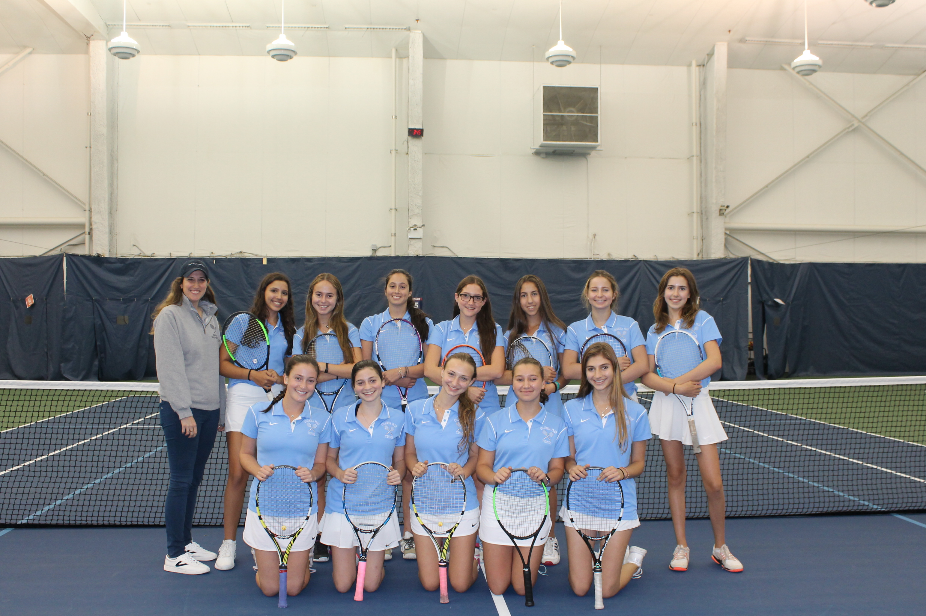 Catherina Krespi and her teammates from Columbia Grammar and Preparatory captured the 2017 Private School Athletic Association (PSAA) Championship