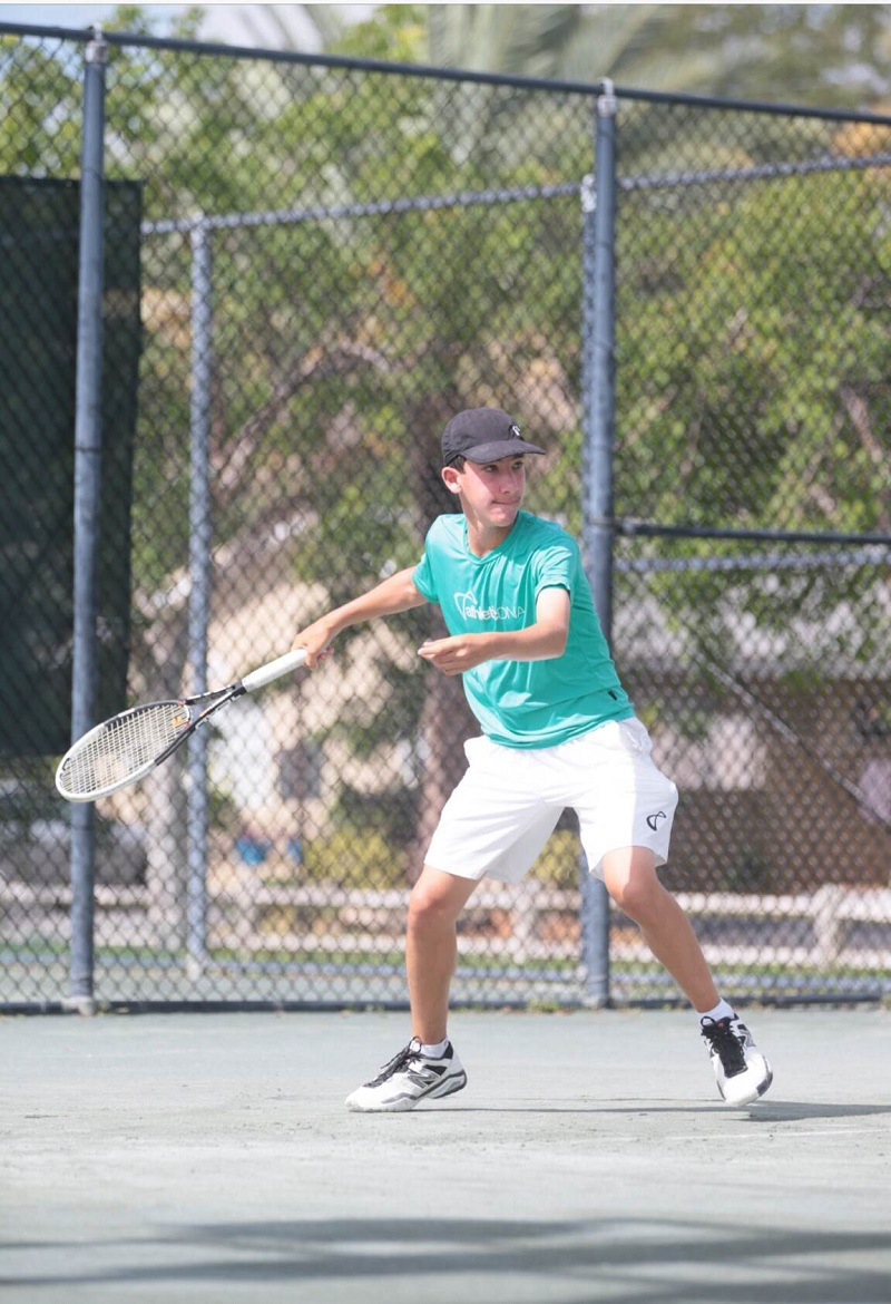 Next year, Zach Lieb will take his tennis talents up to Connecticut to play for the Wesleyan University Men's Tennis team.
