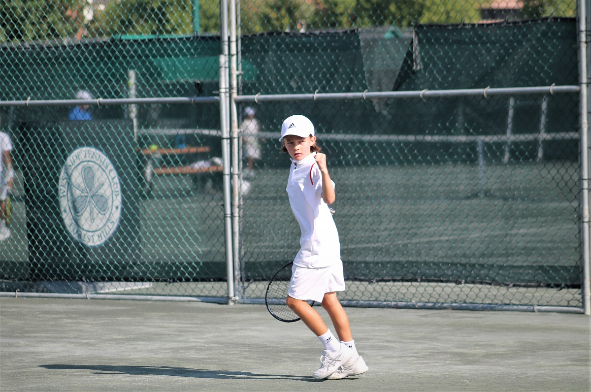 "The West Side Tennis Club in Forest Hills hosted the 8th annual ""Little Mo"" Internationals in late August."