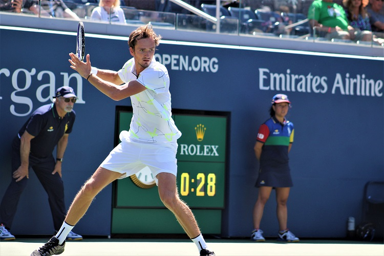 Daniil Medvedev gave Rafael Nadal all he could handle on Sunday night, but the Russian came up short in the end in a US Open epic.