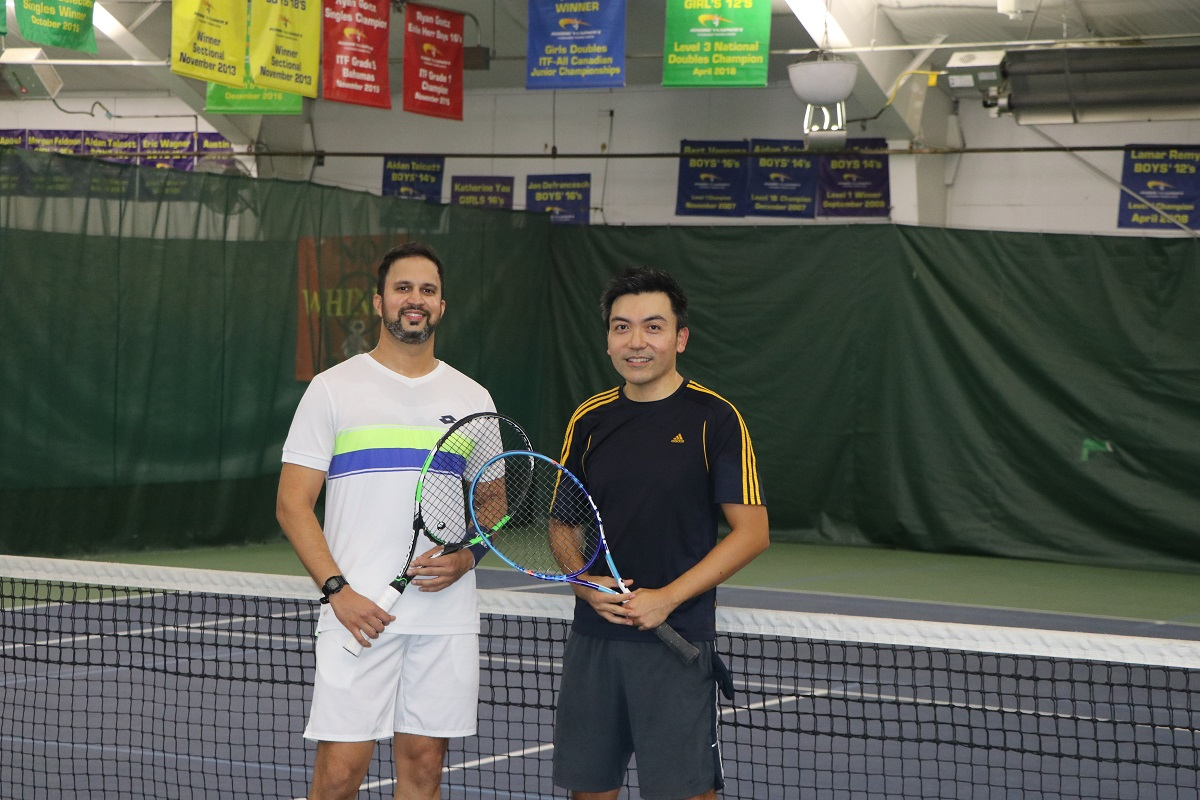 NTRP 3.0 Winner Arjun Reddy with runner-up Bill Kim.