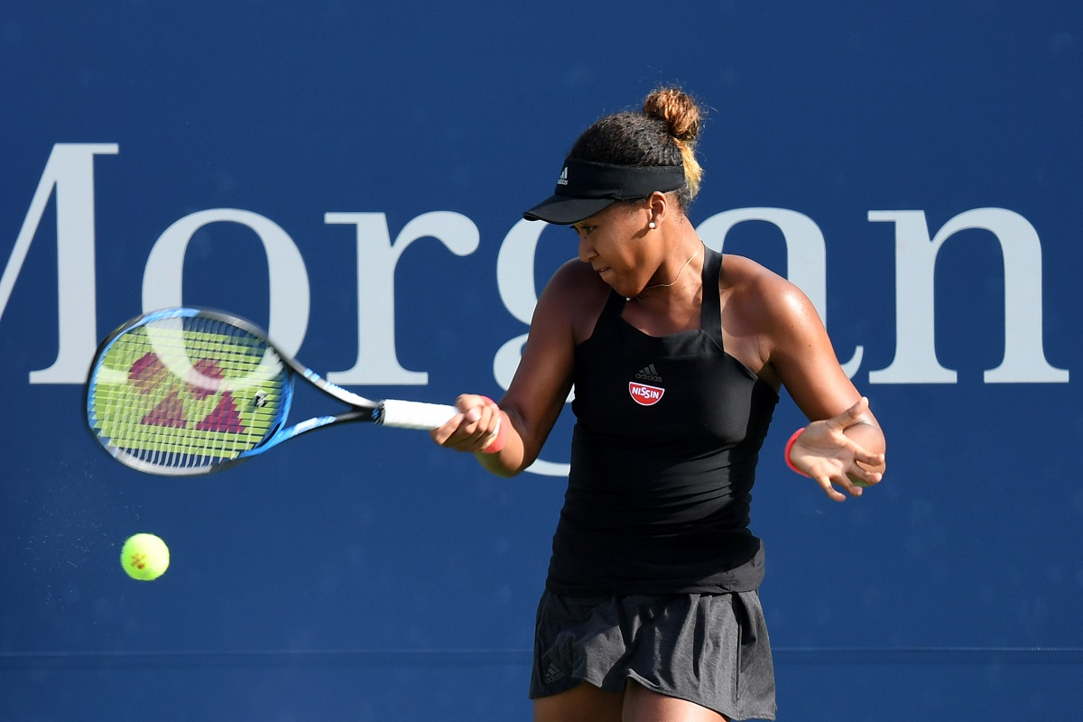 Naomi Osaka powered into the U.S. Open semifinals on Wednesday, continuing her torrid run in Flushing Meadows with a 6-1, 6-1 drubbing of Ukrainian Lesia Tsurenko inside Arthur Ashe Stadium.
