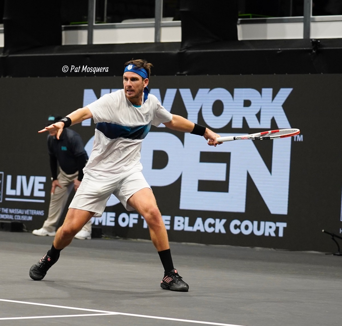 Cameron Norrie, the seventh seed, defeated Long Island native Brian Shi in the New York Open first round on Tuesday night.