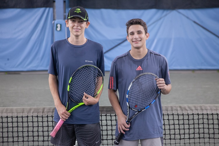 Scarsdale High School's Andrew Bloom and Horace Greeley's Ryan Gruber were the two finalists in the Friday night event.