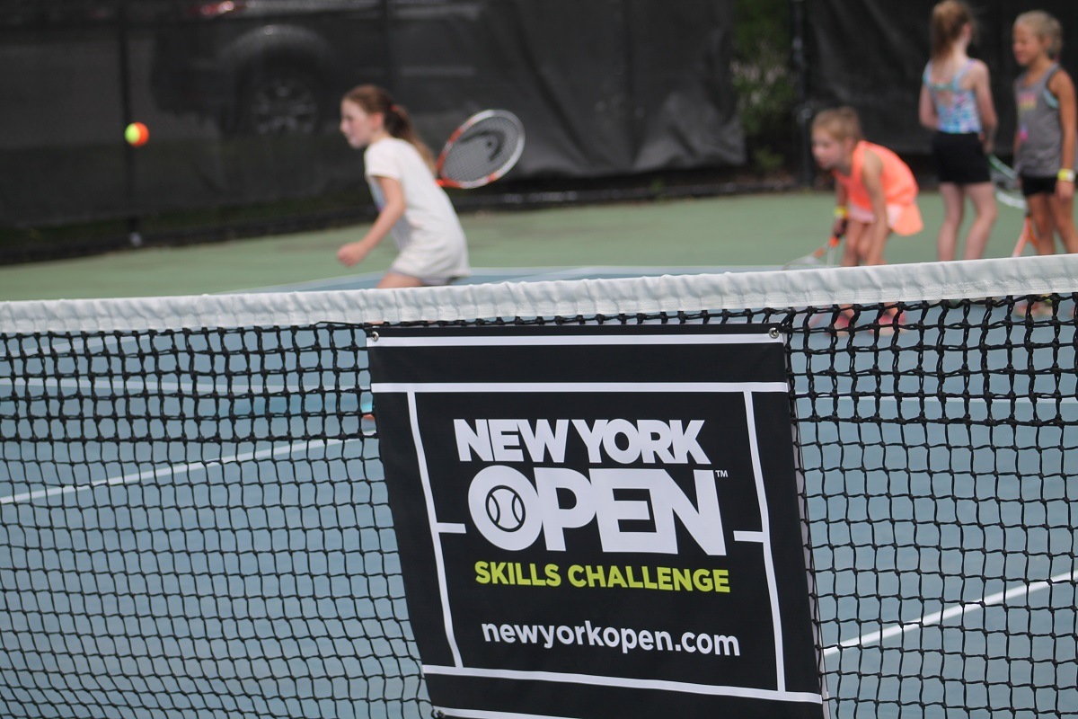 "The New York Open and its ownership, GF Sports, have unveiled a new event promotional platform this summer called ""The Skills Challenge."" The multi-purpose content and event platform is tennis' version of a grassroots skills competition that has been prod"