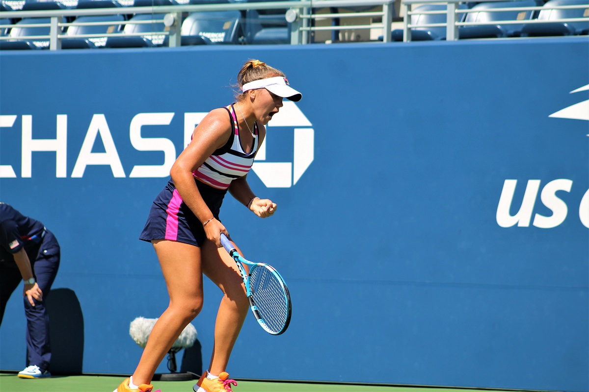 Defending champion and fourth-seeded American Sofia Kenin defeated Australian wild card Maddison Inglis 7-5, 6-4 to move on.