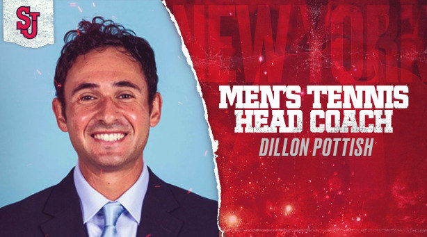 St. John's University announced on Tuesday that former four-time All-American, ITA National Player of the Year, and 2012 NCAA Singles Champion Dillon Pottish has been named as the newest head coach for the men's tennis program.