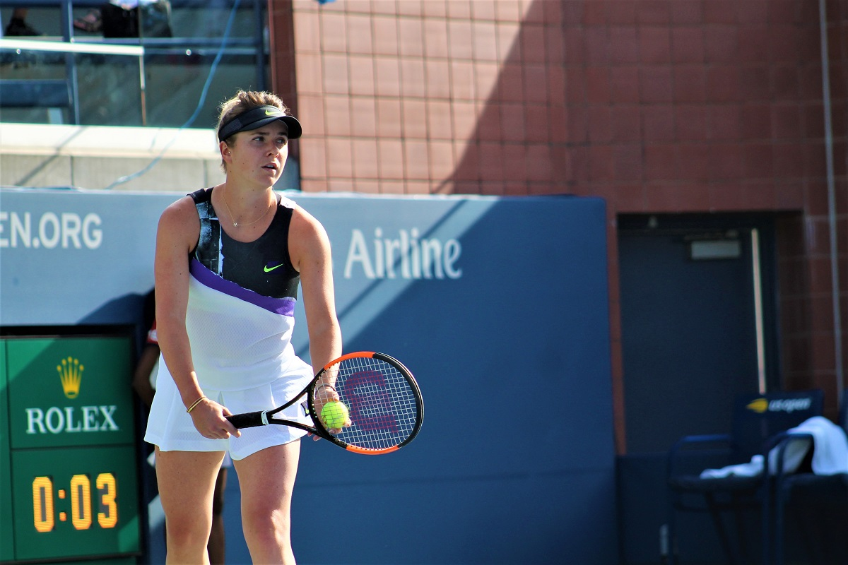 Elina Svitolina is into the first US Open semifinal of her career after defeating Johanna Konta on Tuesday.