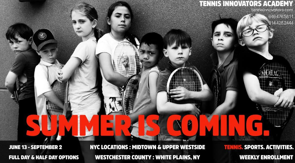 Tennis Innovators Tennis & Sports Summer Camp 2018