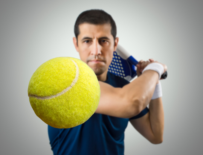 Tennis Tips on maintaining eye contact