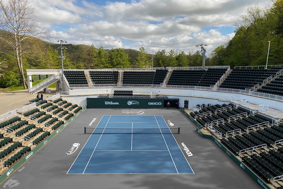 The 45th year of World TeamTennis will take place at The Greenbrier in West Virginia. The season gets underway this Sunday.