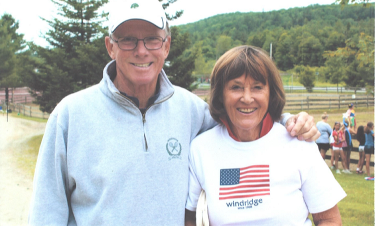 Ted and Nanny Hoehn at Windridge Camps.