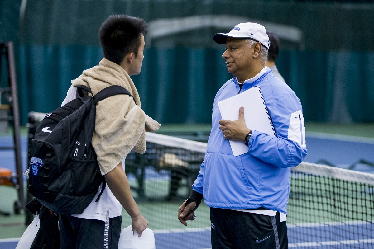 Bid Goswami, longtime Head Coach for Columbia Men's Tennis, announced he will be retiring following the conclusion of the 2019 season.