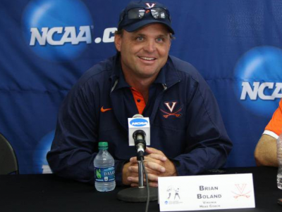 University of Virginia men's tennis head coach Brian Boland was named the next head of men's tennis for the USTA Player Development. He will coach Virginia for the remainder of the 2017 season.