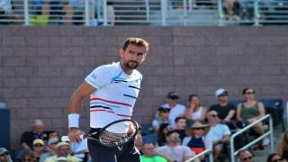 Marin Cilic, US Open winner in 2014, advanced on Saturday with a win over American John Isner.