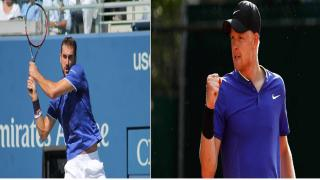 Croatia's Marin Cilic and Great Britain's Kyle Edmund will compete for a spot in the Australian Open final on Wednesday