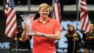 Kyle Edmund defeated Andreas Seppi to win the 2020 New York Open title on Sunday.
