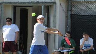 Ethan Leon helped lead Beacon to a 3-0 start this season with a win at first singles on Monday.
