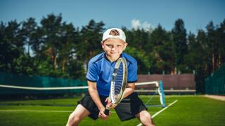 There is a big difference between hitting a tennis ball and playing a point. There is also a big difference between practicing and playing an actual match.