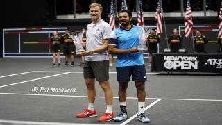 The British-Pakistani pairing of Dominic Inglot and Aisam-Ul-Haq Quereshi captured the New York Open doubles title on Sunday afternoon, downing the American duo of Reilly Opelka and Steve Johnson 7-6(5), 7-6(6).
