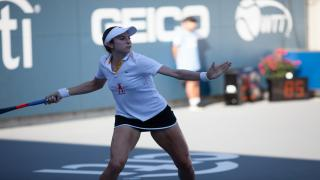 New Jersey native Christina McHale won a key match at Women's Singles to lead the Aviators past the Breakers on Sunday.