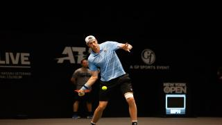 American John Isner looks to build off of a semifinal run at the New York Open last year when he returns to Long Island next week.