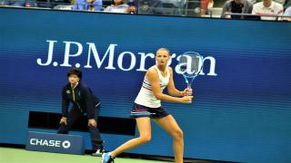 Karolina Pliskova dispatched Georgian qualifier Mariam Bolkvadze 6-1, 6-4 in just one hour and six minutes in Day Three action at the US Open
