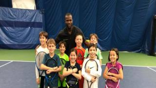 Michael Nortey, a High Performance Instructor at The Cary Leeds Center for Tennis & Learning in the Bronx, N.Y.
