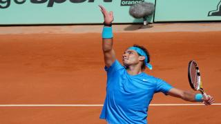 Ten-time French Open champion Rafael Nadal continued his quest for an 11th title, advancing at Roland Garros with a 6-3, 6-2, 7-6(4) win over Maximilian Marterer