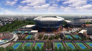 The USTA Billie Jean King National Tennis Center will house a temporary hospital site in an effort by New York City's emergency management office to increase hospital space in the continued battle against the COVID-19 pandemic.