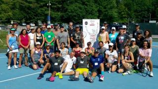 "Author and Mental Training Coach Rob Polishook recently instructued his ""Tennis Inside the Zone: Becoming More Than an Athlete"" workshop where the group examined the re-discovery of ""fun"" in the sport of tennis."