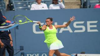 A wild card at the Internazionali BNL d'Italia in Rome, Italian Roberta Vinci called it a career Monday after her opening round loss to Aleksandra Krunic of Serbia