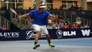 Taylor Fritz notched a win at Men's Singles to lead the Freedoms past the Empire on Thursday.