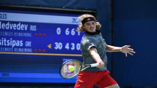 Stefanos Tsitsipas captured the ATP Finals crown on Sunday, claiming the biggest title of his young career with a 6-7(6), 6-2, 7-6(4) comeback win over Dominic Thiem at The O2 in London.