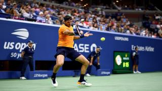 Juan Martin del Potro is back into the finals of the U.S. Open for the first time since he won the title in 2009. The third-seed from Argentina won the first two sets 7-6(3), 6-2 against defending champion Rafael Nadal in their semifinal on Friday night b