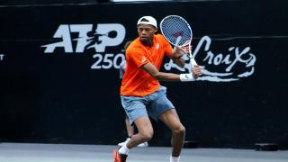 Christopher Eubanks helped lead Team Stars to the win at the All-American Team Cup this past weekend.