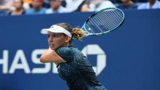 15th seed Elise Mertens will try and topple defending champion and third-seeded American Sloane Stephens on Sunday at the U.S. Open.